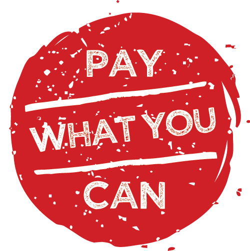Image result for Pay what you can afford