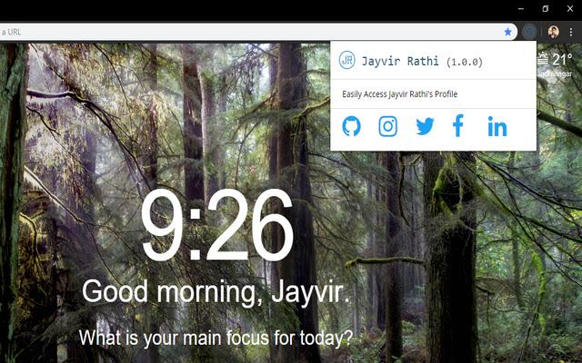 Jayvir Rathi Profile Link