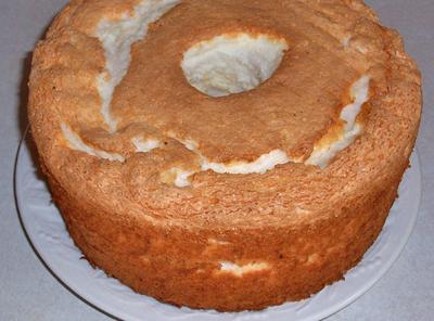 Angel Food Cake With Mountain Dew Glaze Recipe