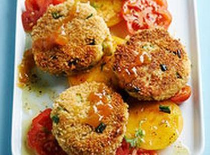 Crab Cakes With Apricot Sauce Recipe