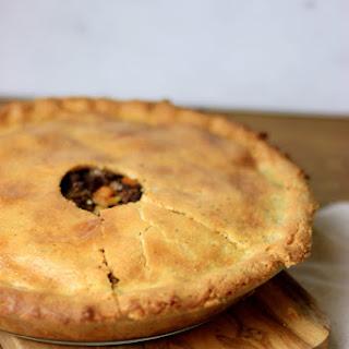 Paleo Low Carb French Canadian Tourtière (Meat Pie).