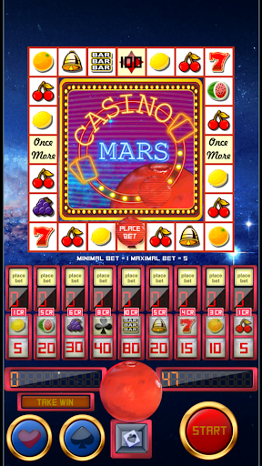 slot machine casino mars screenshot