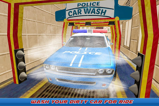 Gas Station Police Car Services: Gas Station Games 1.0 screenshots 4