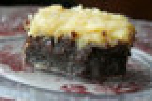 Brownies With Coconut Frosting Recipe