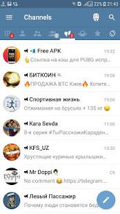 Télégramme de la langue ouzbek - Milli TeleTelegram
