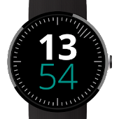 Digital Wave Watch Face