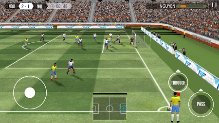 Real Football APK screenshot thumbnail 6