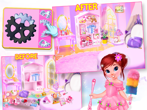 Princess House Cleanup For Girls: Keep Home Clean 22.0.0 4