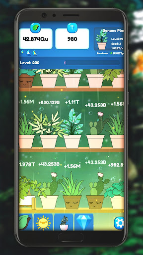Code Triche Plant Paradise: Idle Garden mod apk screenshots 2