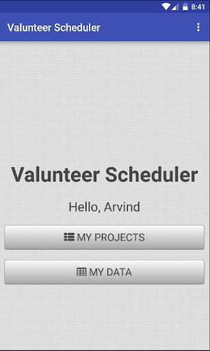 玩免費遊戲APP|下載Volunteer Scheduler app不用錢|硬是要APP