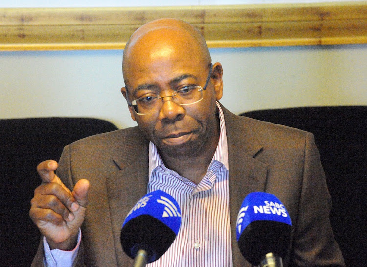 Business Leadership South Africa CEO Bonang Mohale briefs the media at the BLSA Offices in Killarney Hills, Johannesburg.       Picture: FREDDY MAVUNDA
