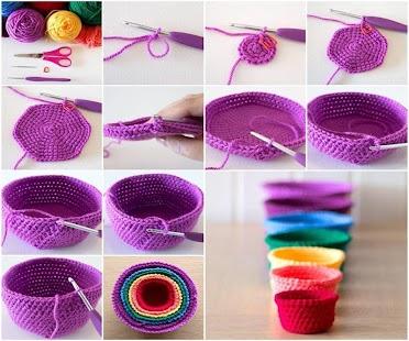 Crochet ideas step by step app - náhled
