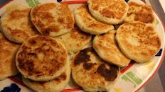 Grilled White Cheesy Corn Patties / Arepas