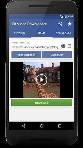 Video Downloader For Facebook App for PC