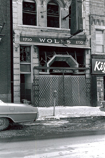 Florhiers Shoes On Wolf Street, Pittsburgh After the Riots