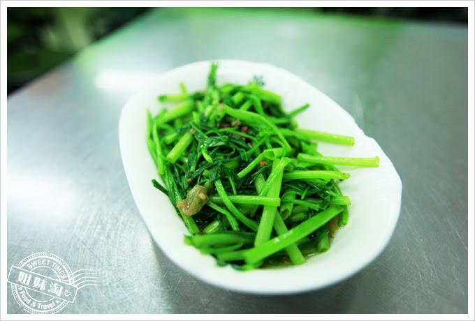 徐記雙方乾麵-燙青菜