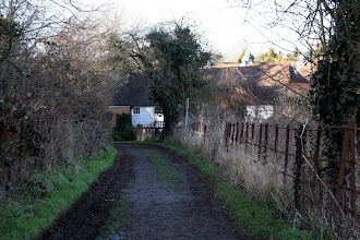 Photo: Mill Farm Track Wateringbury 2006