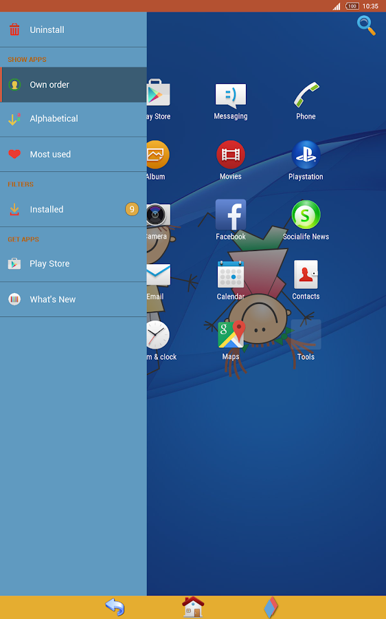 Kids Xperia Theme- screenshot