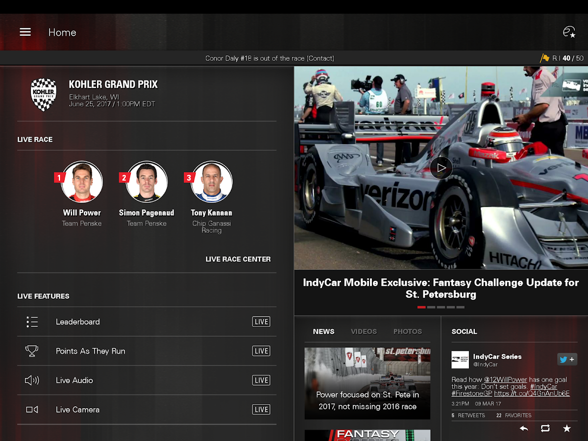 INDYCAR- screenshot