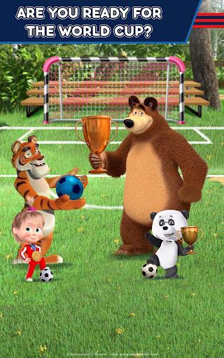Masha and the Bear: Football Games for kids 1.3.7 screenshots 10