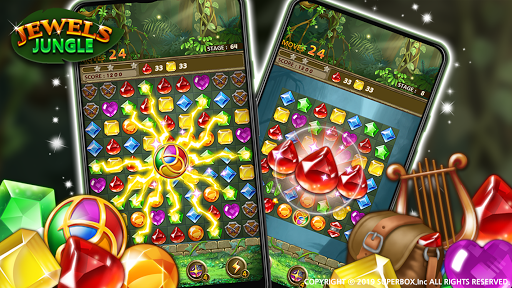 Jewels Jungle : Match 3 Puzzle 1.7.7 screenshots 2