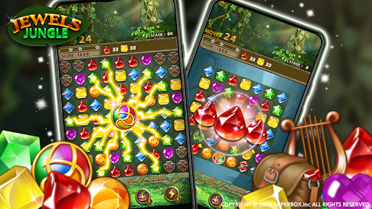 Jewels Jungle : Match 3 Puzzle 2