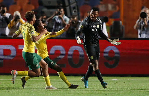 Mpoto the penalties hero as SA U-23s edge Ghana to the Tokyo Olympics