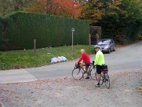 Photo: Fini pour aujourd'hui, mardi prochain, sans doute Deurle sur les beaux méandres de la Lys au sud de Gand