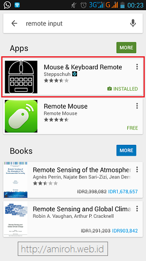 Meremote Laptop dengan HP Android