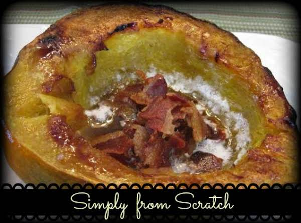 Oven Roasted Acorn Squash Recipe