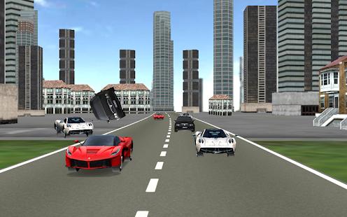 super fast car racing 3d screenshot thumbnail - Super Fast Cars