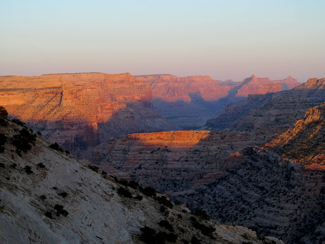 Sunset at the Little Grand Canyon