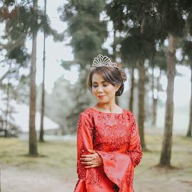 i found the love by Ekin Murad - Wedding Bride ( #wedding #bride #malaywedding #beautiful #outdoor )