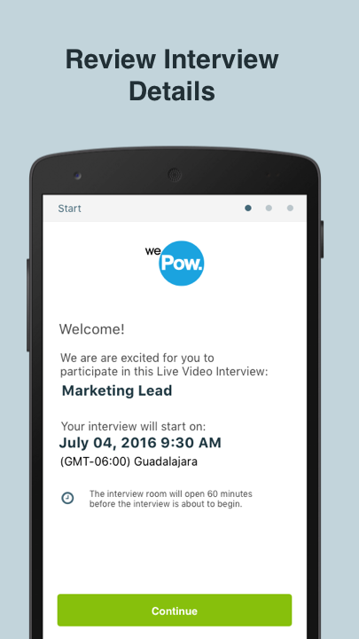 WePow Live- screenshot