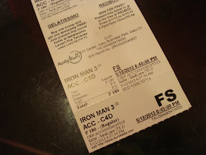 Photo: Now time to watch Iron Man 3!