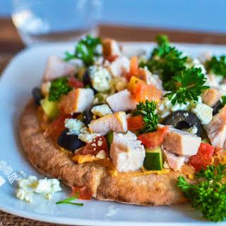 Mediterranean Pizza.
