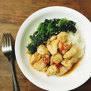 30 minutes Vietnamese stir-fried chicken with lemongrass and chili.