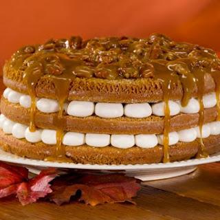 Pumpkin Praline Torte