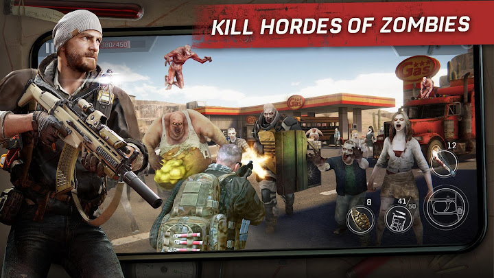 Left to Survive: PvP Zombie Shooter Android App Screenshot