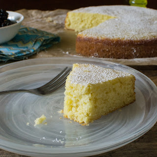 Lemon Ricotta Olive Oil Cake