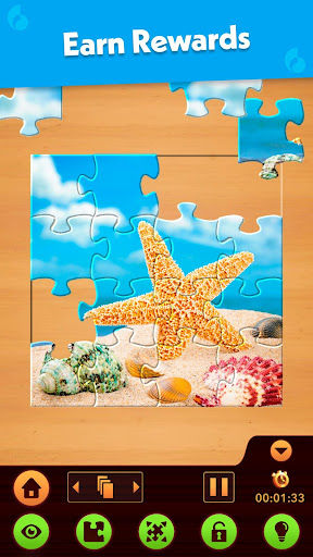 Jigsaw Puzzle: Create Pictures with Wood Pieces screenshot 8