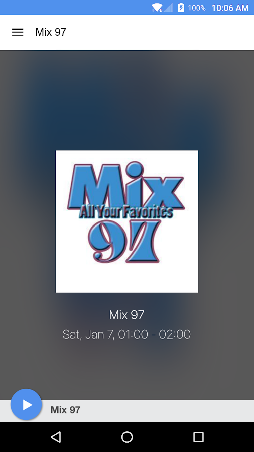 Mix 97- screenshot