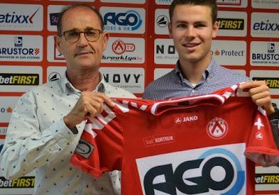 Lennert De Smul verlaat Club Brugge en gaat voor KV Kortrijk voetballen