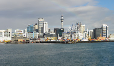 Photo: Auckland's Skytower in the back