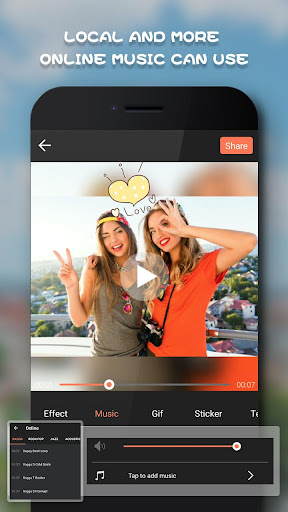 Beauty Video Editor,Cut,Music & Square Pic Collage 1.53 screenshots 4