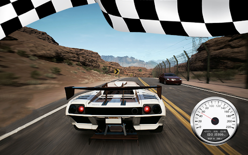 Real Speed Racer: Fast Car Drive Highway Drift 3D - náhled