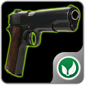 Shooting club icon