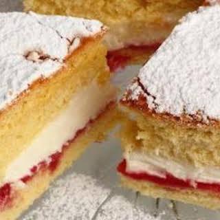 Victoria Sponge Cake.
