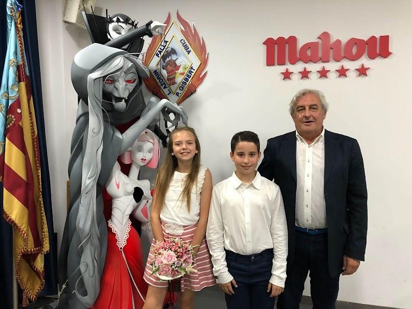 Nombramiento representantes infantiles Falla Cuba