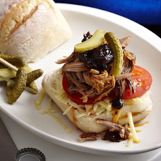 Sticky Pulled Pork Sandwiches